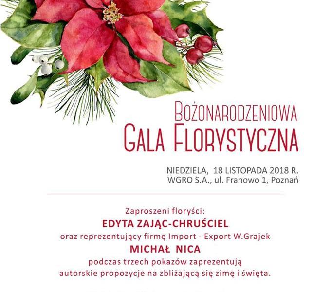 Bożonarodzeniowa Gala Florystyczna