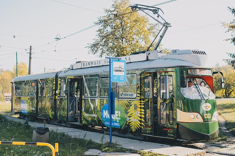 Dżungla w Śląskim tramwaju - walka ze smogiem