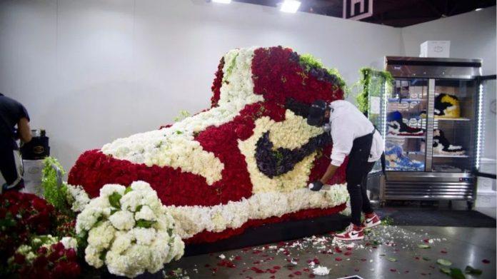 Mr. Flower Fantastic - artysta wśród kwiatów