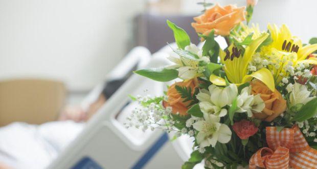 Kwiaty w szpitalu