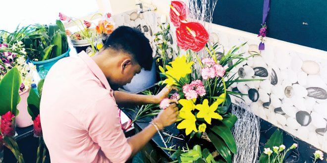 Kwiaty w Indiach