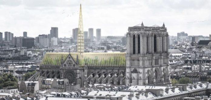 Katedra Notre-Dame ze szklarnią