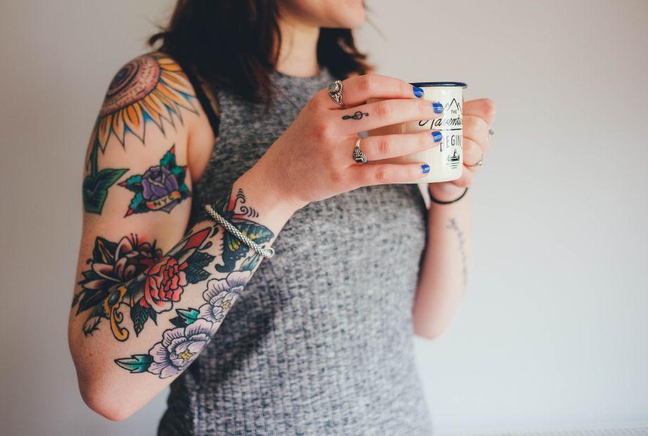 Co Oznaczają Tatuaże Z Kwiatami Cz 1 Portal Florystyczny
