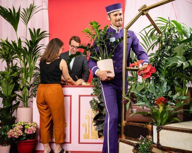 Hotel dla roślin
