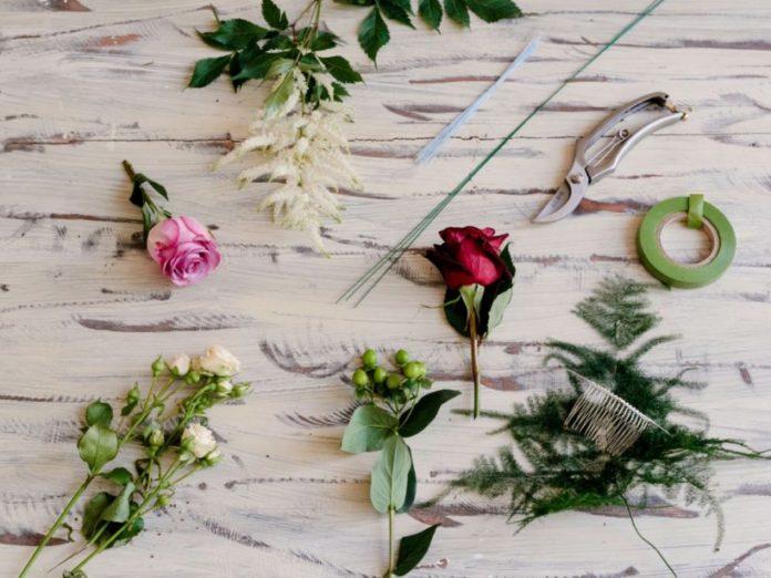 drut florystyczny